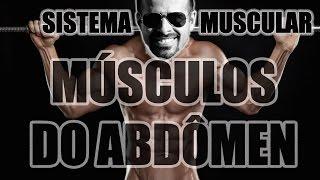 Vídeo Aula 112 - Anatomia Humana - Sistema Muscular: Músculos do Abdômen (Reto Abdominal e Oblíquos)