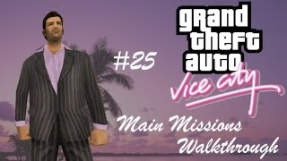 GTA Vice City - Mission #25 - Rub Out