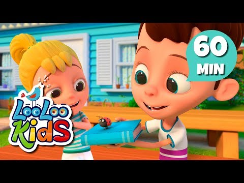 Skip To My Lou - Educational Songs For Children | LooLoo Kids
