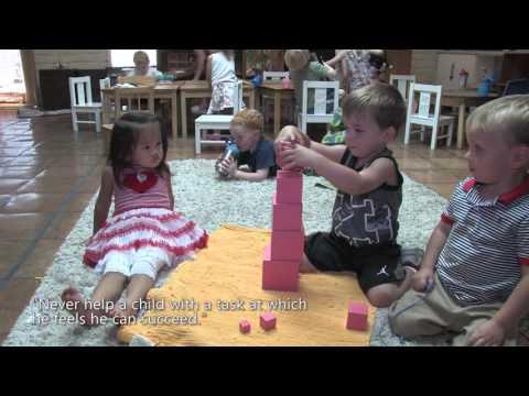 Toddler Class at Cave Creek Montessori