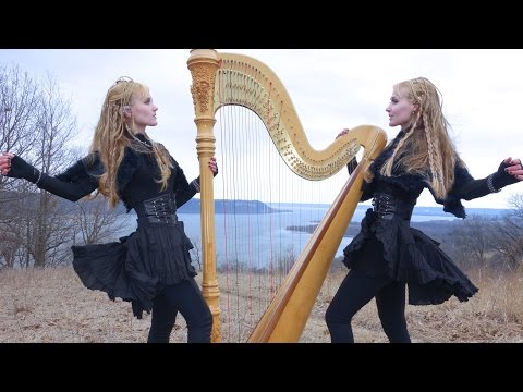 NORTH (Original Song) – Camille and Kennerly, Harp Twins (2 Girls 1 Harp)
