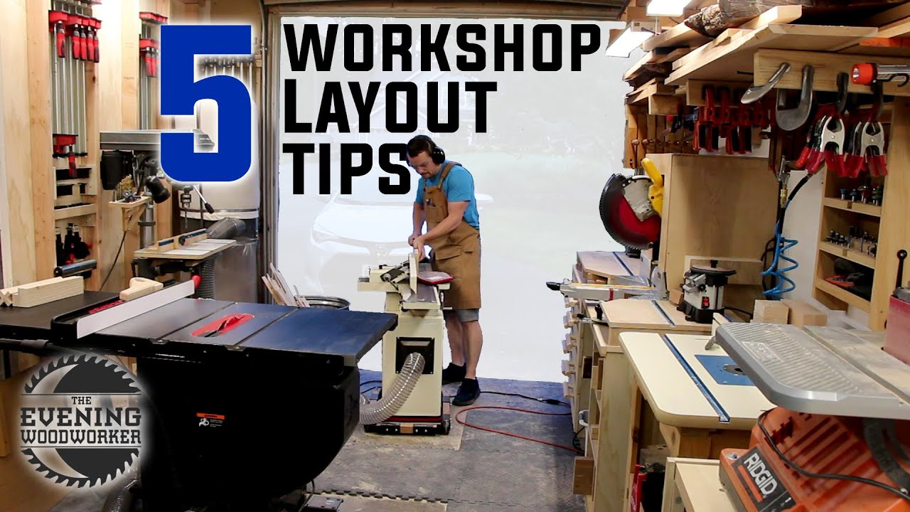 Workshop Design - 5 Keys to a Small Shop Layout | Woodworking