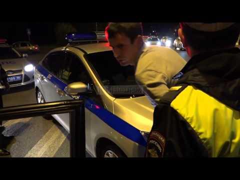 погоня с полицией в Сургуте. полная версия
