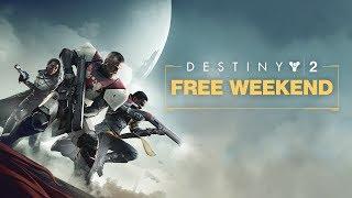 Destiny 2: Playstation Free Weekend Trailer [AUS]