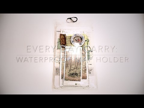edc-every-day-carry:-waterproof-map-holder