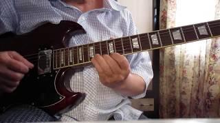 """Мелодия из к/ф """"Крестный отец""""   на электро гитаре"""