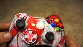 Zombie Walking Dead Xbox Controller