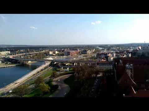 Widok z tarasu Muzeum Narodowego w Szczecinie III