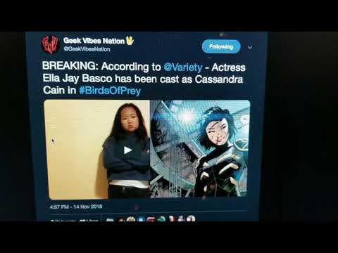 Birds of Prey Movie Gets Its Cassandra Cain