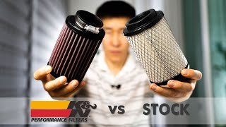 K&N Filter For Royal Enfield Himalayan Review And Test!