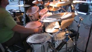 "Ben Boswell ""Whipping Post"" Drum Cover"