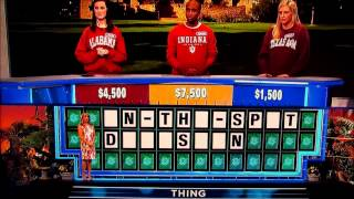 Wheel Of Fortune Epic Fail!!