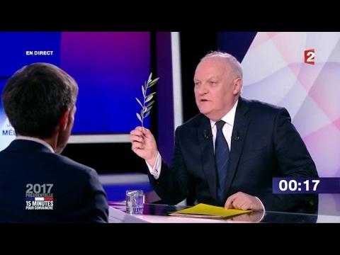 """François Asselineau dans """"15 minutes pour convaincre"""" sur France 2"""