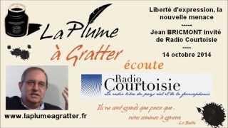 Liberté d'expression, la nouvelle menace – Jean Bricmont sur Radio Courtoisie (octobre 2014)