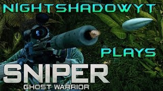 Sniper Ghost Warrior #6 - Weaken The Regime part 1 of 2 (PC/Facecam)