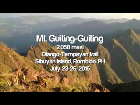 Mt. Guiting-Guiting Traverse July 2016