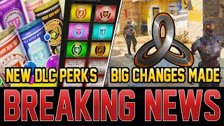 NEW ZOMBIES DLC PERKS LEAKED – TREYARCH MAKES BIG CHANGES!  (Cold War Zombies)