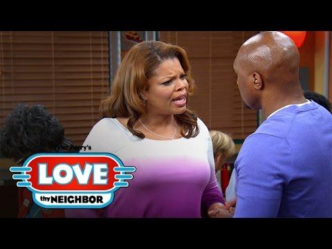 Linda Threatens to Call Off the Wedding | Tyler Perry's Love Thy Neighbor | Oprah Winfrey Network
