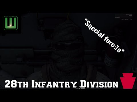 """28th Infantry Division - """"Special"""" forces"""
