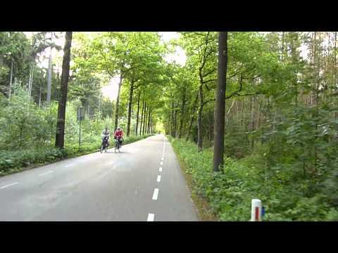 Bicycle Trip: De Bilt - Bilthoven - Lage Vuursche - Baarn [DBBLVB]