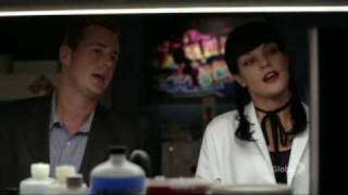 NCIS [7x01 Truth or Consequences] Abby and McGee Singing