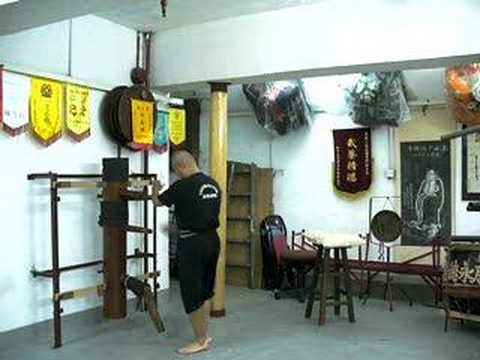"TaiChai Praying Mantis - ""iron body exercise"". act..."