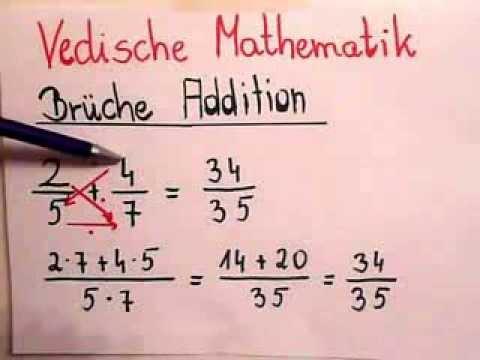 Vedische mathematik lernen