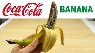 ЖЕЛЕЙНЫЙ БАНАН из Кока-Колы! DIY