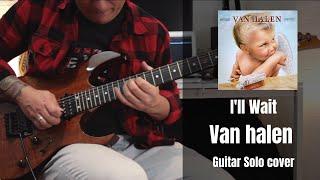 Van Halen - I'll Wait Guitar Solo Cover by Rod Rodrigues