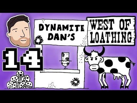 West of Loathing (Hard Mode) - PART 14: Mighty Fine Sasssapparaililla | Graeme Games
