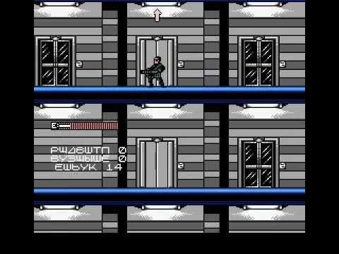 Terminator 2 - Judgment Day (8-bit, Dendy, NES) - полное прохождение