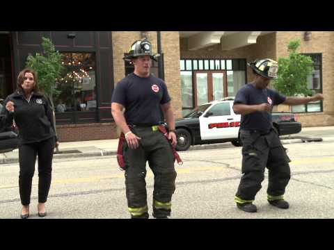 'Uptown Funk' brings together Wis. first responders