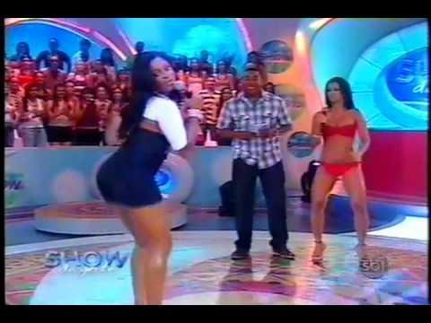 Alessandra Cariucha, a Garota da Laje no Show da Gente