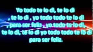Todo te lo di  - Torita feat Paisa & Mary Z ( Letra )