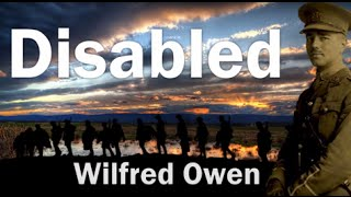 Disabled by Wilfred Owen