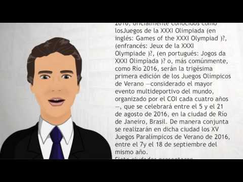 Juegos Olímpicos de Río de Janeiro 2016 - Wiki Videos