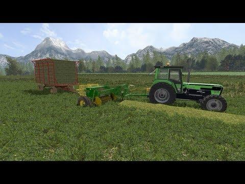 Baling hay | Small Farm | Farming Simulator 2017 | Episode 18