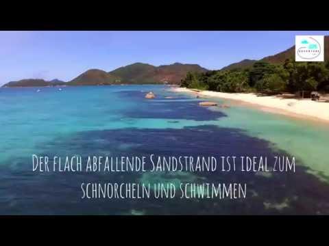 Beach Guide Seychelles by drone- Anse Bourdin (Part.2)