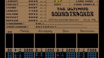 The Ultimate Soundtracker - First tracker ever
