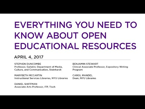 Everything You Need to Know About Open Educational Resources