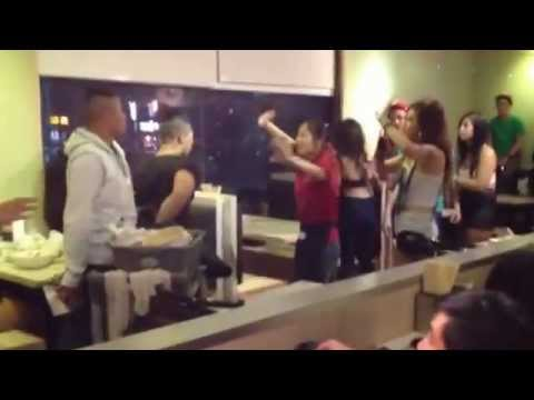 0 Fight breaks out at a Vietnamese pho restaurant