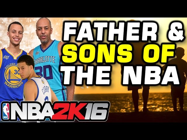 Father-Sons Duos of the NBA