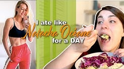 I ATE LIKE NATACHA OCÉANE FOR A DAY / Trying to Figure Out Nutrition lol / 100lb Weight Loss Journey