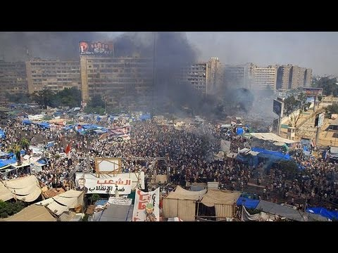 Deadly day in Cairo as Mursi protest camps stormed