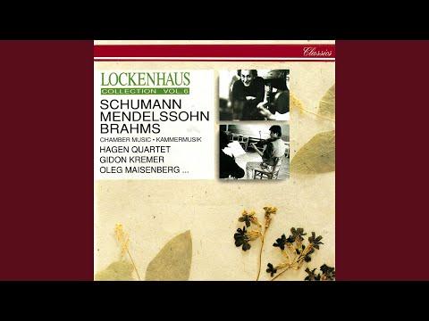 Mendelssohn: Lieder ohne Worte, Op. 62 - Version for Piano Duet - No. 5 Andante in A Minor...
