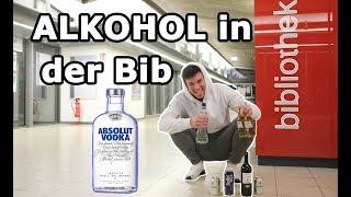 ALKOHOL IN DER BIBLIOTHEK | PRANK