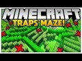 THE TROLLS IN MINECRAFT FOR YOUR FRIENDS - MINECRAFT TROLL TRAPS MAZE - Minecraft Modded Minigame
