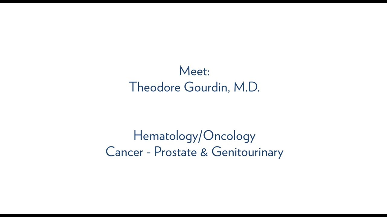 Theodore Gourdin, M D , Oncology, Hollings Cancer Center - MUSC Health