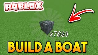 BUYING *UNLIMITED* BLOCKS! | Build a boat For Treasure ROBLOX
