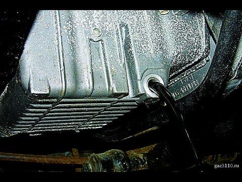 Волга Газ-31105 (замена масла и прокладки крышки клапанов ЗМЗ-406)
